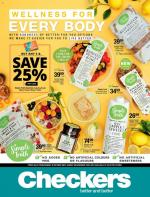 Checkers Specials Wellness Promotion 26 October 2020