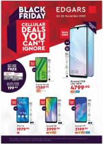 Edgars Specials Black Friday 20 November 2020
