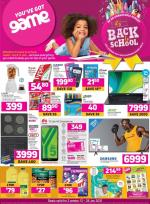 Game Specials Back 2 School 13 January 2021