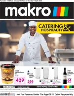 Makro Specials Catering Catalogue 17 March 2020