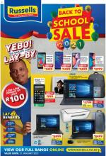 Russels Catalogue Back To School Sale 18 January 2021