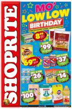 Shoprite Specials Mo Low Low Birthday 10 August 2020