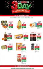 Spar Specials Black Friday 27 November 2019
