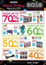 Toys R Us Specials Black Friday 27 November 2020