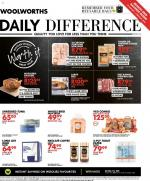 Woolworths Specials Daily Difference 20 January 2020