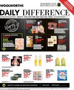 Woolworths Specials Daily Difference 26 May 2020