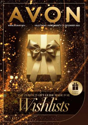 avon brochure gifting 1 november 2020