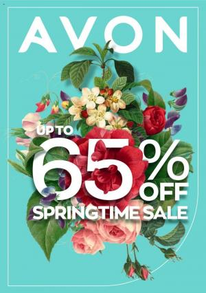avon brochure springtime sale 15 september 2020