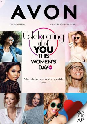 avon brochure womens day deals save up to 70