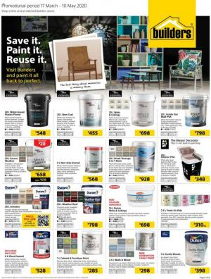 builders warehouse specials paint it 17 march 2020