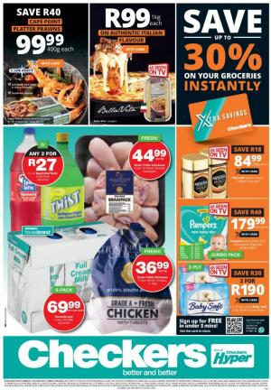 checkers specials 21 may 2020