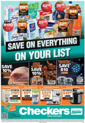 checkers specials 29 june 2020