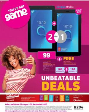 game specials unbeatable deals 7 august 2020