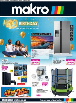 makro specials birthday catalogue 2 august 2020