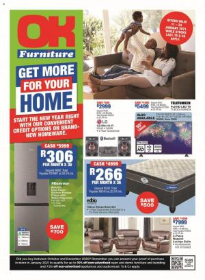 ok furniture specials 11 january 2021