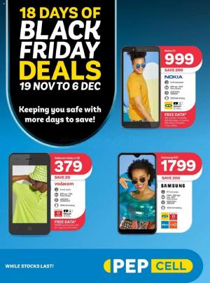pep catalogue black friday 19 november 2020