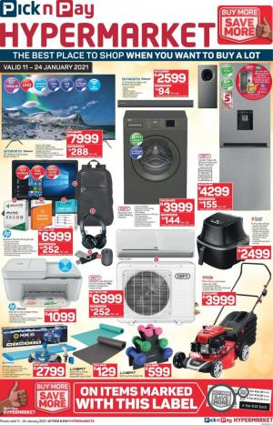 pick n pay specials 11 january 2021