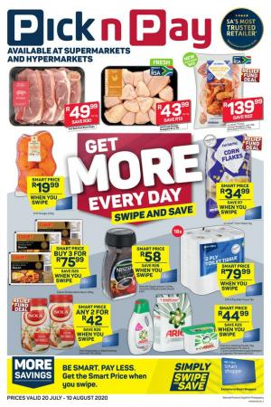 pick n pay specials 19 july 2020