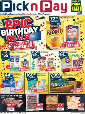 pick n pay specials 7 13 june 2021