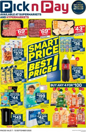 pick n pay specials 7 september 2020