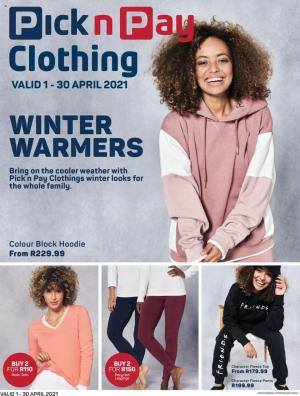 pick n pay specials clothing 1 30 april 2021