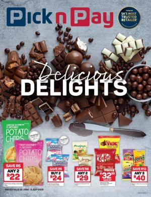 pick n pay specials delicious delights 22 june 2020