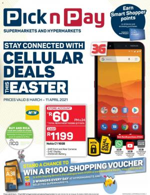 pick n pay specials eastern cellular 8 march 2021