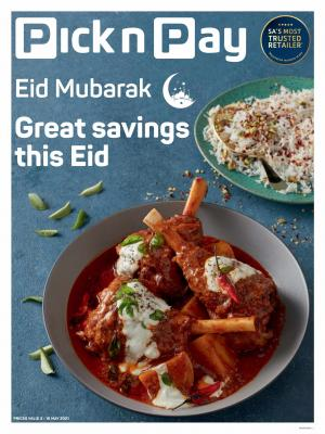 pick n pay specials eid sale 3 16 may 2021