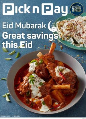 pick n pay specials great savings this eid 18 may 2020