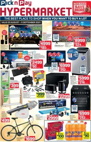pick n pay specials hyper 23 aug 5 sep 2021