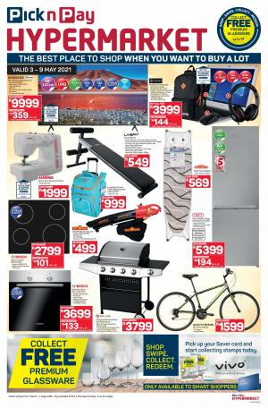 pick n pay specials hypermarket 3 9 may 2021