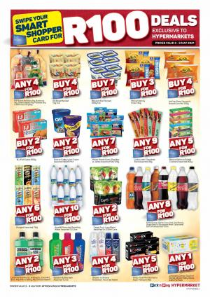 pick n pay specials r100 sale 3 9 may 2021