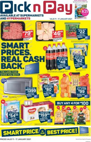 pick n pay specials smart price 11 january 2021