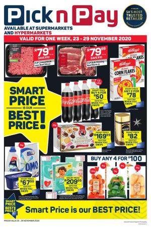 pick n pay specials smart prices 23 november 2020