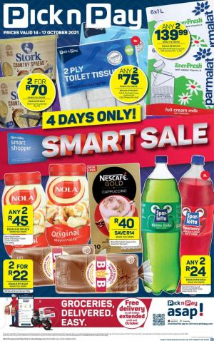 pick n pay specials weeked deals 14 17 october 2021