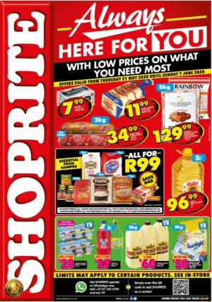 shoprite specials always here for you 21 may 2020