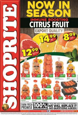 shoprite specials citrus fruit promotion 29 june 2020 eastern cape
