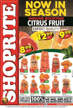 shoprite specials citrus fruit promotion 29 june 2020 kwazulu natal