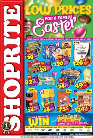 shoprite specials easter low prices 22 mar 5 apr 2021