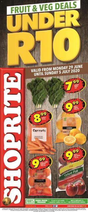 shoprite specials fruit and veg deals 29 june 2020