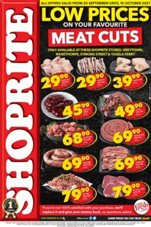 shoprite specials low prices on meat cuts 20 sep 10 oct 2021