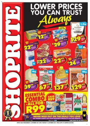 shoprite specials lower prices you can trust always 6 16 september 2021