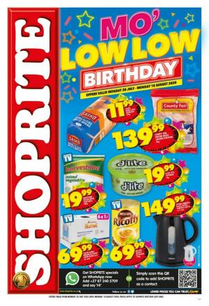 shoprite specials mo low low 20 july 2020