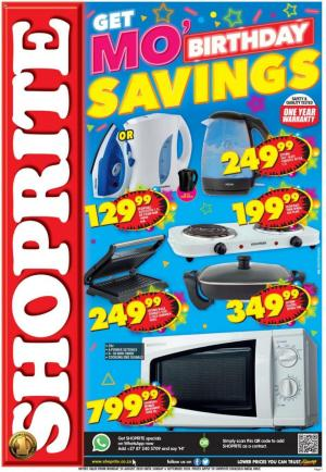 shoprite specials small appliances 24 august 2020