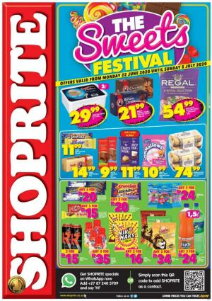 shoprite specials the sweets festival 22 june 2020