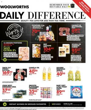 woolworths specials daily difference 4 may 2020
