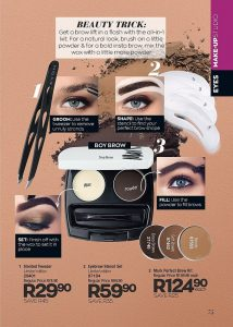 Correct Makeup With Help Of Avon Brochure January 2020
