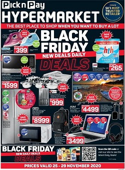 pick n pay specials black friday hypermarkets 25 november 2020