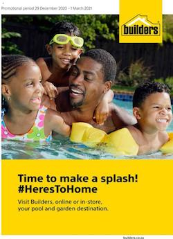 builders warehouse specials time to make a splash 29 december 2020