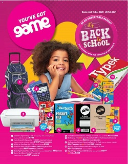 game specials back to school 15 december 2020